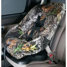 mossy oak camo child car seat cover
