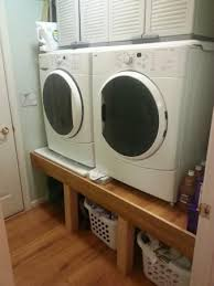 washer and dryer stands. Washer/Dryer Platform Pedestal | Do It Yourself Home Projects From Ana White Washer And Dryer Stands W