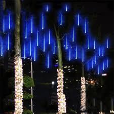 garden led lights. Meteor Shower Rain Tubes 144led 8 AC100-240V LED String Christmas Lights Wedding Party Garden Led