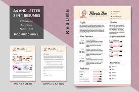 Resume Modern E Din A4 Letter Lebenslauf Vorlagen Moderne Lebenslauf Etsy