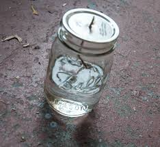 diy mason jar oil lamp preparing for hurricane sandy
