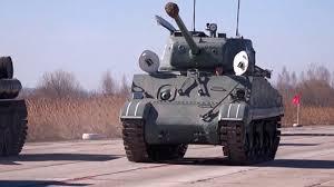 Американский <b>танк</b> «Шерман» впервые примет участие в параде ...