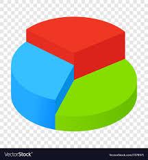 Isometric Pie Chart Icon