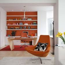 office orange. home office orange feature wall inspiring interiors find more ideas at o