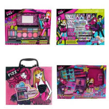 s ages 8 and up with go crazy over these fun makeup and nail kits from pink fizz the pink fizz sleepover face rescue set moisturizing kit with
