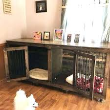 furniture style dog crate. Furniture Dog Crates Smart Wooden Canada . Style Crate