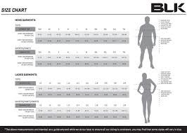 Apparel Size Charts Milwaukee Barbarians Rugby