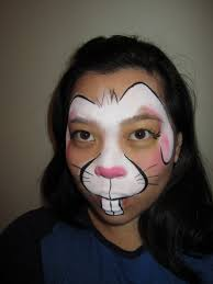 makeup tutorial simple throughout bunny rabbit designs in face