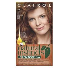 Natural Instincts Light Golden Red Clairol Natural Instincts 7gr Light Golden Red 1 Kit
