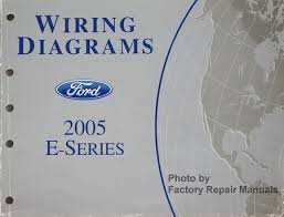 2005 ford econoline van wagon e150 e250 e350 e450 electrical wiring diagrams ford 2005 e series