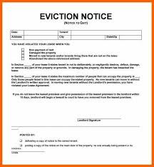 15 Free Printable Eviction Notices Resume Cover