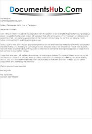 Resignation Letter Resignation Letter For Leaving Job Formats