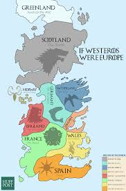 this map of westeros shows the european equivalents of the seven