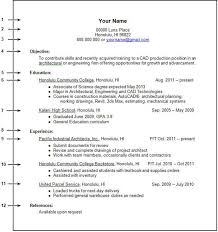Resume Work Experience Format Unique Resume Template For College Student With Little Work Experience