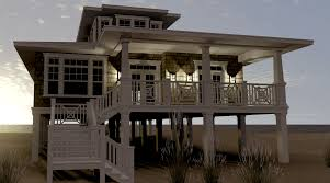 beach house plans on pilings. Beach House Plans Pilings With Porches On S