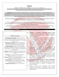 sample resume for technical support resume sample leading sample resume for technical support edp resume format best