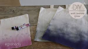 Diy Canvas Diy Canvas Tote Bag With Spray Paint Effect By Sastrene Grene