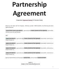 sample contract agreement exemples samples partnership agreement doc and pdf sample contract