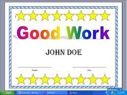 Making A Certificate Making A Certificate With Word 2003 Youtube