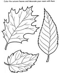 Small Picture Easy Shapes Coloring pages Fall Leaves Printables Pinterest