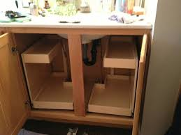 Under Kitchen Sink Cabinet Storage Drawers Under Bathroom Sink Rukinetcom