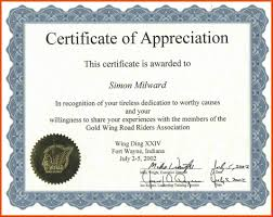 Appreciation Certificates Wording Certificate Of Recognition Wording cortezcoloradonet 1