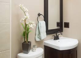Small Modern Half Bathroom In Contemporary Modern Half Bathroom On - Half bathroom remodel ideas