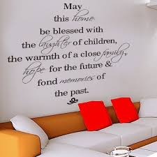 may this family be blessed wall decal sticker quote b amazon uk kitchen home on kitchen wall art stickers amazon with may this family be blessed wall decal sticker quote b amazon