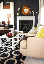 home office dark blue gallery wall. Dark Blue Living Room 10 Navy Rooms To Inspire You Pick Up The  Paintbrush Photos Home Office Dark Blue Gallery Wall S