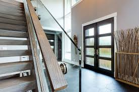 custom solid wood front doors in
