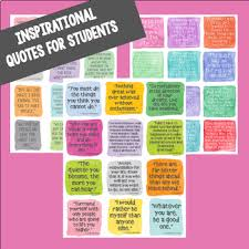 Quote Cards Awesome Inspirational Quote Cards For Students Watercolor Collection TpT