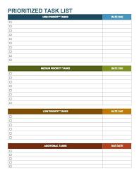 Task List Template Task List Template Homework To Do List