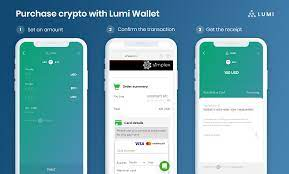 How the express checkout works. Buying Bitcoin With Credit Card By Using Lumi Wallet