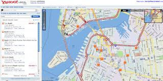 yahoo maps get more local  techcrunch