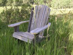 custom made adirondack chair rustic barn wood furniture
