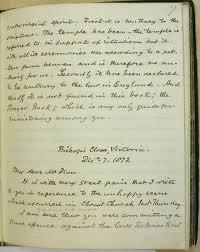 documents journal of edward cridge