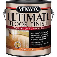 minwax ultimate floor finish semi gloss water based 128 fl oz polyurethane