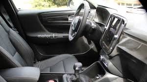 2018 volvo s60 interior. wonderful 2018 2018 volvo xc40 new spy shots including interior cabin for volvo s60
