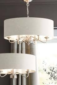 next burford 6 light chandelier chrome
