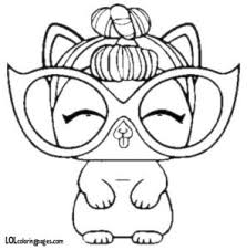 Lol Surprise Pets Coloring Pages Printable