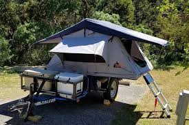 utility trailer roof top tent a great budget friendly multi purpose compact