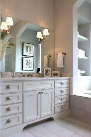 Bathrooms Cabinets : Shaker Style Bathroom Cabinet On Grey ...