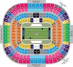 Image Result For Nfl Stadium Seating Chart Carolina