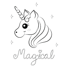 Unicorn Color Pages Flying Printable Coloring Free Colouring Cute