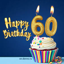 Happy Birthday 60 Years Old Animated Card Download On Davno