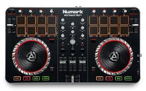 mixtrack pro ii 2 channel dj controller audio i o numark