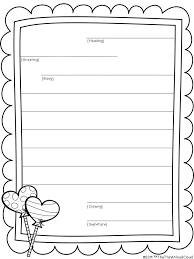 Letter Writing Format Co Informal In Template Formal Pdf