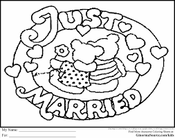 Small Picture Disney Wedding Coloring Pages anfukco