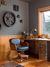 wall cabinet office. industrial home office idea in portland with gray walls wall cabinet i