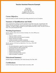 English Teaching Resume Objective Faculty College Professor Sample